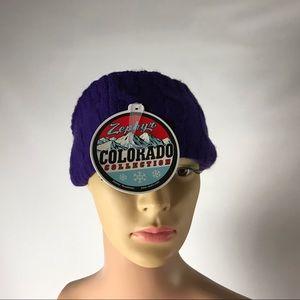 New Zephyr Colorado Wildcats Headband Purple OS